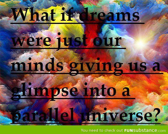Dreams = Parallel Universe
