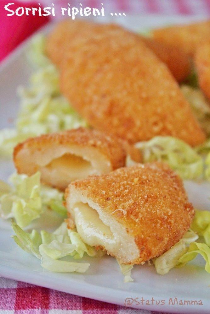 Sorrisi ripieni ricetta passo passo antipasto stuzzichino fingerfood ricetta per bambini semplice veloce economico Giallozafferano Statusmamma blogfGz