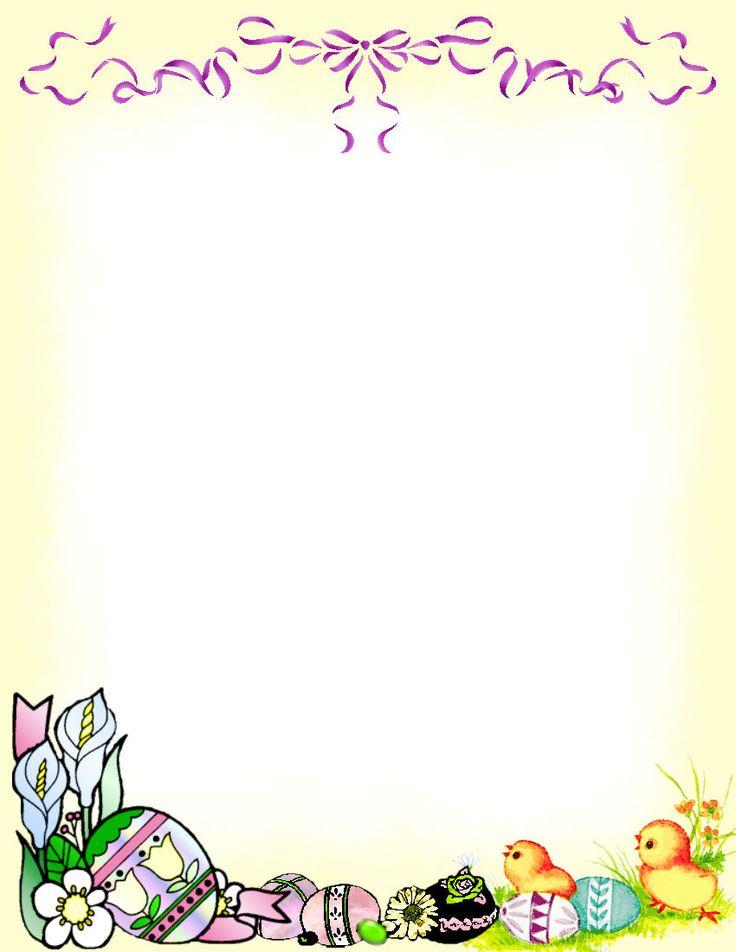 111 best Easter Background / Frames images on Pinterest ...