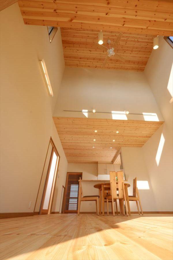 2世帯住宅の無垢の家 香川で自然素材の木の家 注文住宅を建てる大河内