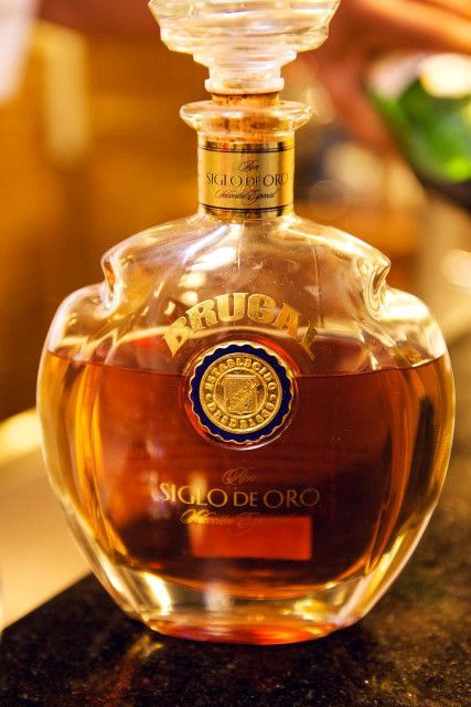 Brugal Rum.  Third largest rum producer in the world. Made entirely in Puerto Plata, DOMINICAN REPUBLIC