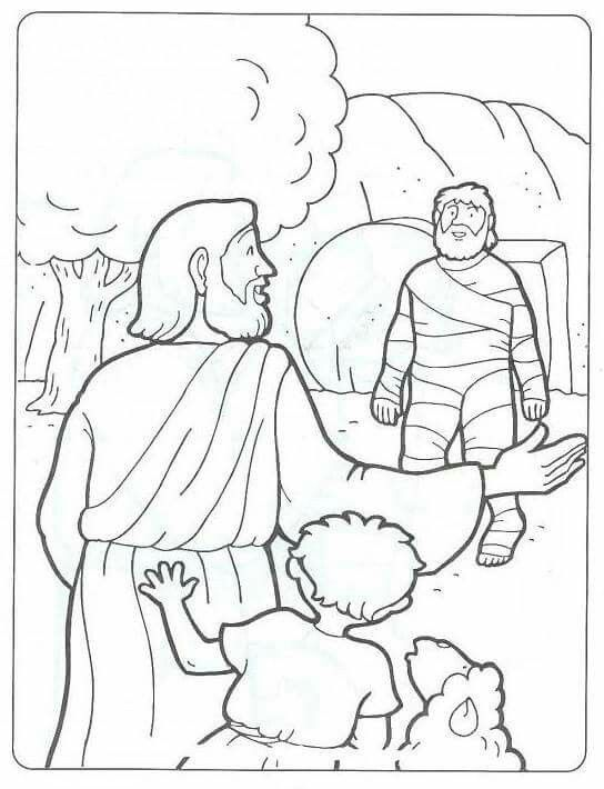 Lazarus Coloring Pages 47 Free Printable