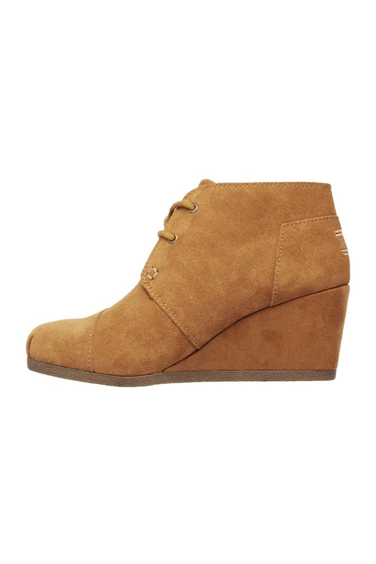 """They'll take a second look at the smooth style and comfort of the Sketchers BobsHigh Notes Behold boot. Soft all suede upper in a wedge heeled casual lace up ankle boot with stitching accents and memory foam insole. This bootie is perfect for fall weather paired with your favorite pair of leggings!    Heel height: 2 1/2""""   Behold Bootie by Sketch.Inc. Shoes - Booties Tennessee"""