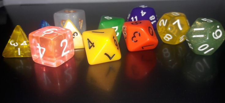 Type of Dices in Dungeons and Dragons Since 1974, Dungeons and Dragons, and many other Role Playing and other games since then, adopted a set of 5 dice. These included: 4 sided die (1d4) 6 sided die (1d6) 8 sided die (1d8) 12 sided die (1d12) 20 sided die (1d20) The game uses the various dice to spice the play role gaming with varying randomness. For ...