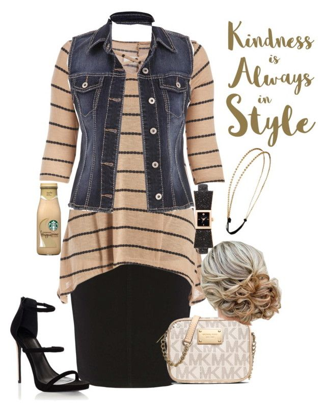 """Apostolic Fashions #1681"" by apostolicfashions on Polyvore featuring Dorothy Perkins, maurices, Lipsy, Kate Spade, Chicnova Fashion, MICHAEL Michael Kors and Sixtrees"