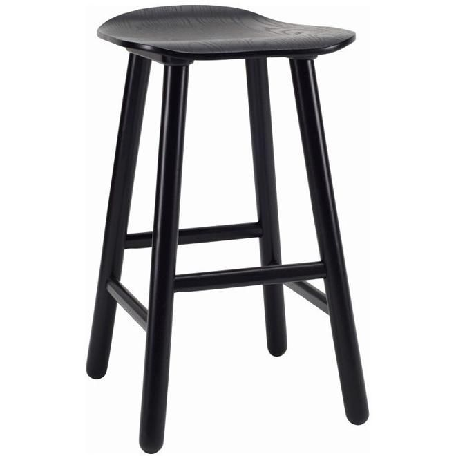 Hetty Counter Stool - Black Ash Veneer $129