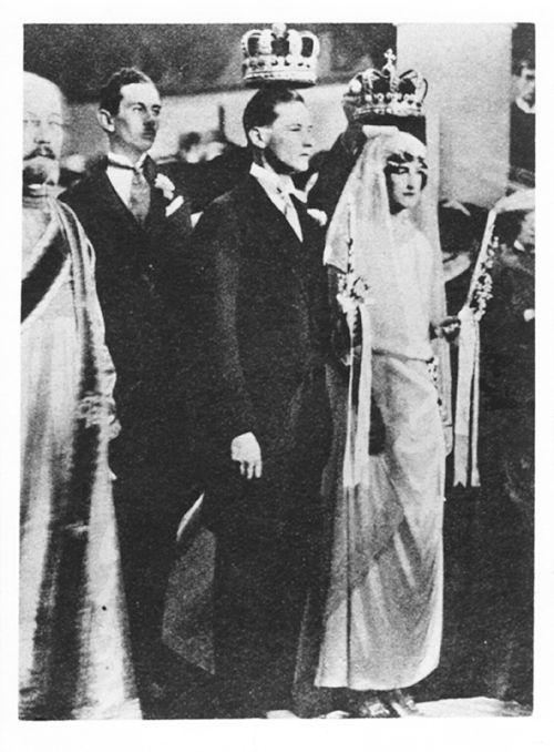 "romanovsonelastdance: ""Wedding of Princess Nina Georgievna and Prince Paul Chavchavadze. """