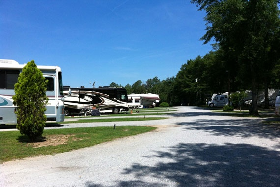 Twin Oaks RV Park I 75 Perry Elko Georgia On Florida Line Might Be Good Overnight Stop