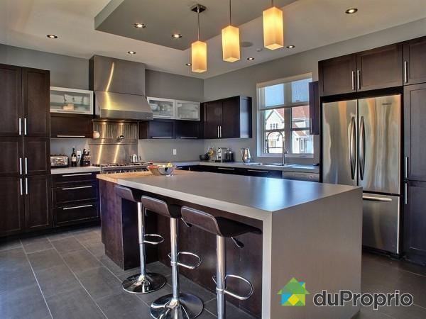 une superbe cuisine contemporaine st gr goire jolie. Black Bedroom Furniture Sets. Home Design Ideas
