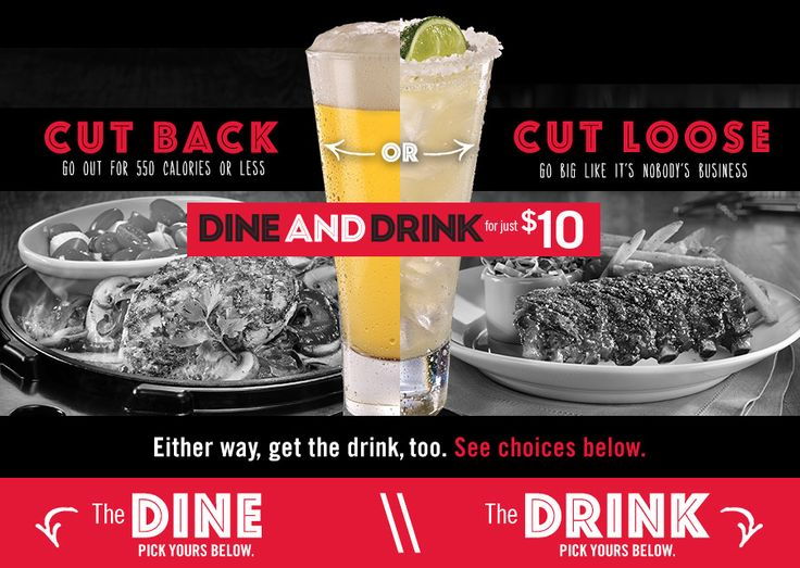 TGI Friday's $10 Dine and Drink Special | DealForALiving