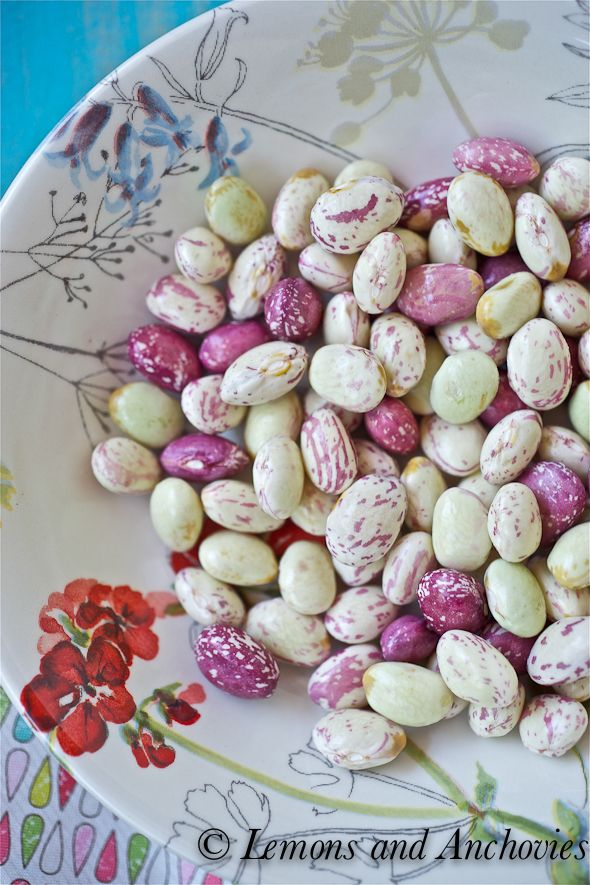 Sauteed Cranberry Beans- should try...they has lots of protein and fiber