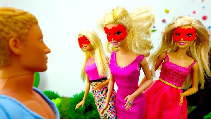 Прикольное видео и игры для девочек. Куклы Барби и Кен – розыгрыш. Ютуб ...