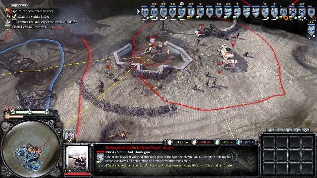 Company of heroes (Aiming a unit)