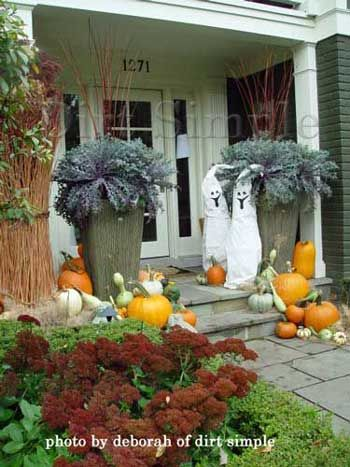 halloween decorating ideas from a landscaping professional