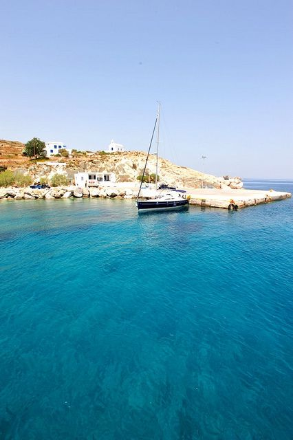 Kimolos island in Greece