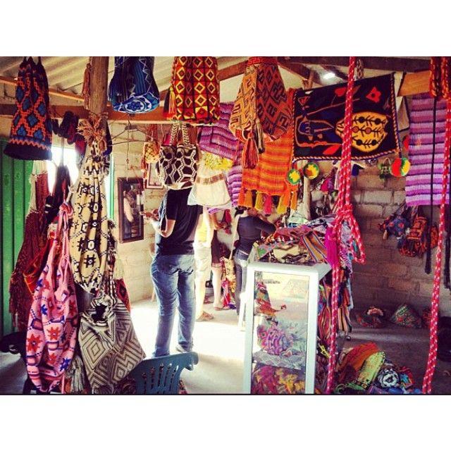 Wayuu Carmen Palmar's tienda en La Guajira #tbt #wayuu #thewayu #mochila #womensfashion #summerstyle #love #inspiration #instagood