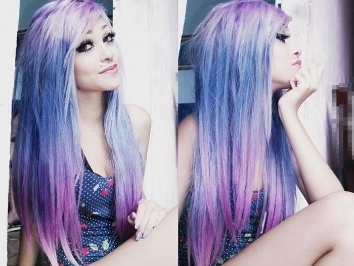 Super jealous of anyone with hair colour as sweet as this.