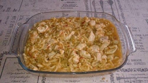 Fideua con pollo para #Mycook http://www.mycook.es/receta/fideua-con-pollo/