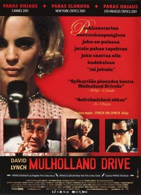 TOP 100 FILMS | American | Director David Lynch | Mulholland Drive Polish poster.