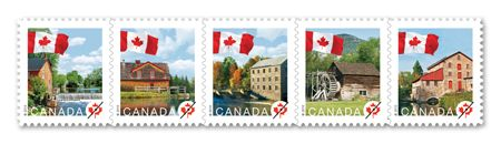 We're on a stamp!