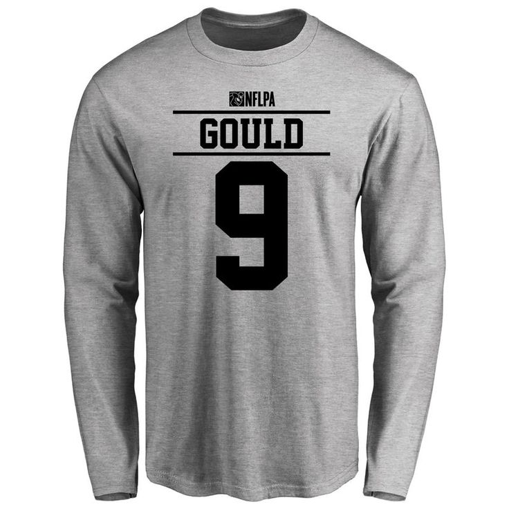 Robbie Gould Player Issued Long Sleeve T-Shirt - Ash