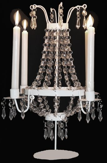 46 best tabletop chandeliers images on pinterest chandeliers coming soon candle tabletop chandelier 17 tall hannah aloadofball Choice Image