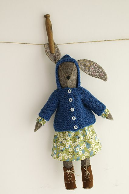 Ravelry: woolymountain's Miss Maggie Rabbit
