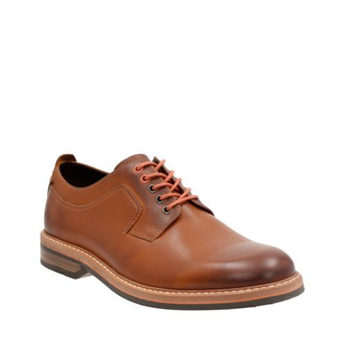 Pitney Walk Cognac Leather mens-oxfords-lace-ups