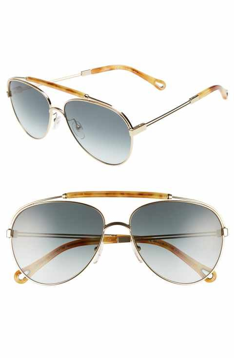 a22dd6af3d Chloé Jackie 59mm Aviator Sunglasses