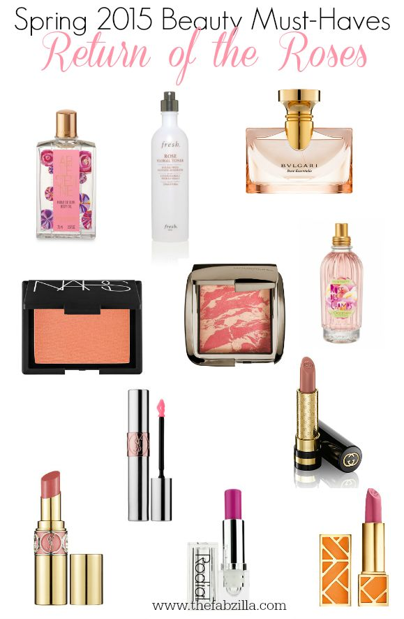 Spring Beauty 2015 Beauty Must-Haves :: Return of the Roses via @thefabzilla