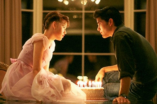 """Sixteen Candle"" ... adorable Molly Ringwald and, of course, the gorgeous ""Jake Ryan"" (Michael Schoeffling ... who, I hear, is now a working carpenter)"
