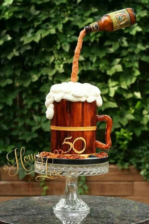 A 40th cake idea for handsome man