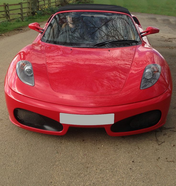 Red F430 Standard Spec Car With Big Brake Conversion Fitted. Replica.  Ferrari F430 Replica