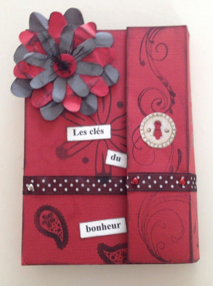 [ Tutoriel Scrapbooking n°1] : Mini album accordéon partie 1