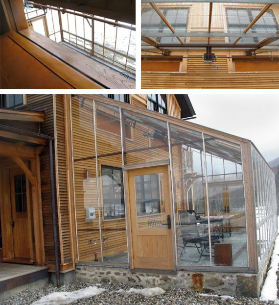 Passive Solar Homes With Attached Greenhouse Radiant
