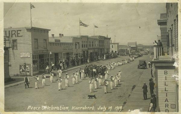 Peace Celebration, Kerrobert, Sask. July 19, 1919 | saskhistoryonline.ca