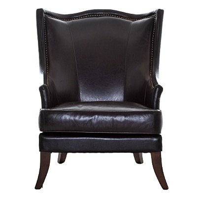 "Eaton Chair     Description  Chair height 18""    was $939.99 now $469.99   SKU 115202   26.5 inches wide x 29 inches long x 39 inches high"
