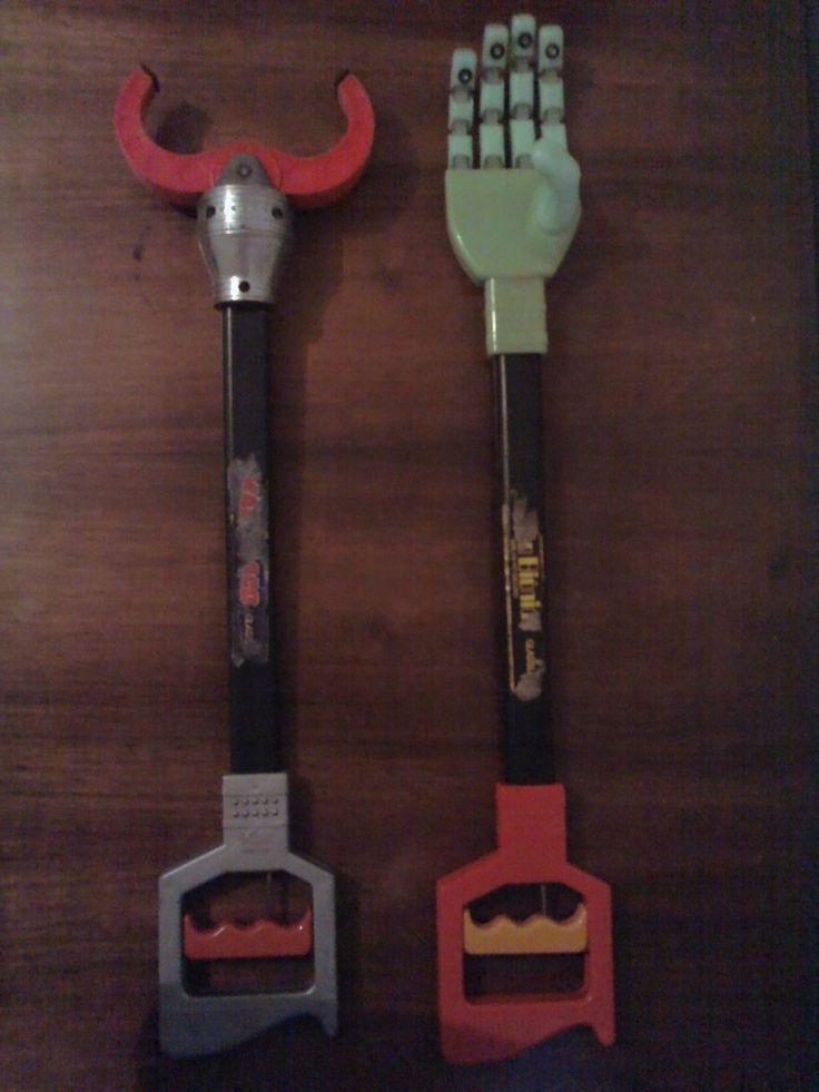 brinquedos estrela anos 80 - Mão Biônica