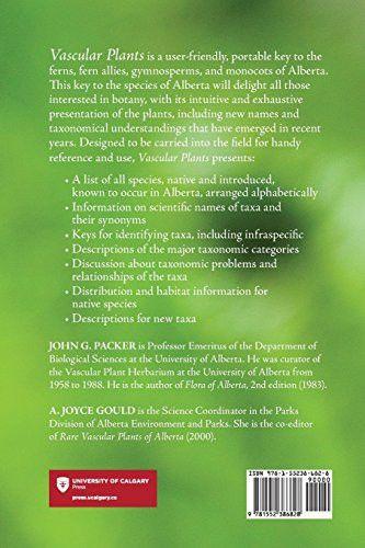 Vascular Plants of Alberta, Part 1: Ferns, Fern Allies, Gymnosperms, and Monocots