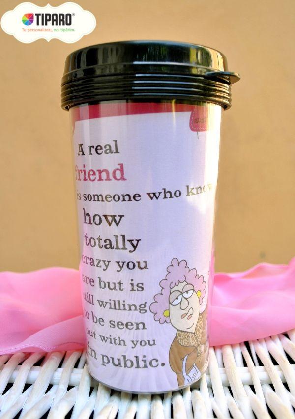 Ziua Internationala a Prieteniei: Cadou de la Oana