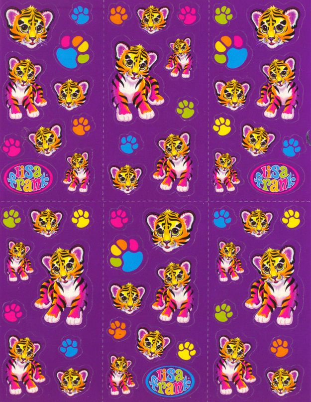 "Reviewing The ""Vintage"" Lisa Frank Stickers Being Sold At ..."