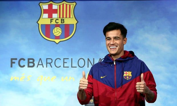 Philippe Coutinho Make First Appearance @ Camp Nou in Barcelona Colours Philippe Coutinho Make First Appearance @ Camp Nou in Barcelona Colours Philippe Coutinho made his first public appearance in colours of Barcelona, before the medical and official presentation of Monday at the club. The Brazilian star participated in a brief photo shoot in front of the media wearing a .......... Read more here…