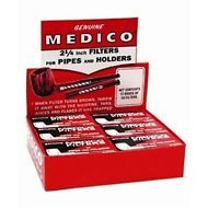 Medico Pipe Filters - Full Display of 12 Boxes