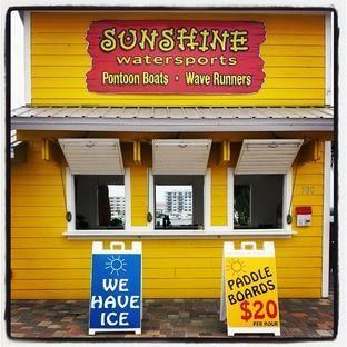 Sunshine Water Sports - boat rentals, jet ski rentals, kayak rentals, paddle board rentals, pontoon rentals