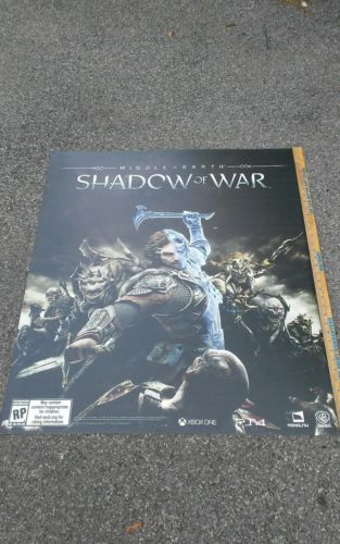 Toys R Us R Zone Shadow Of War Middle Earth 31 36 Signage Ps4 Xbox