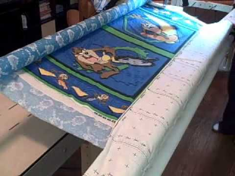 Pinning a Quilt on a Grace Frame: A KathyQuilts.com Extra - YouTube