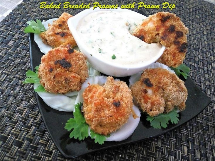Baked Breaded Prawns Recipe with Prawn Flavored Dip -Oven baked Jumbo Prawns with a crispy coat and juicy tender meat inside . Baked breaded prawns is served with a delicious creamy spicy prawn flavored dip. Together its a feast ,just enjoy this delicious seafood preparation with a simple recipe. Baked Breaded Prawns Recipe with Prawn […]