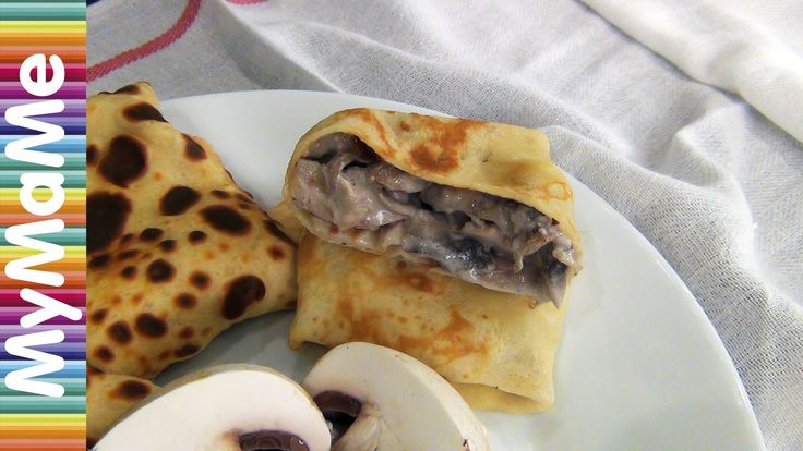 Блины с курицей и грибами и блины с творогом и курагой - 2 рецепта начинки для блинов  https://www.youtube.com/watch?v=hZo-9jq9tLA