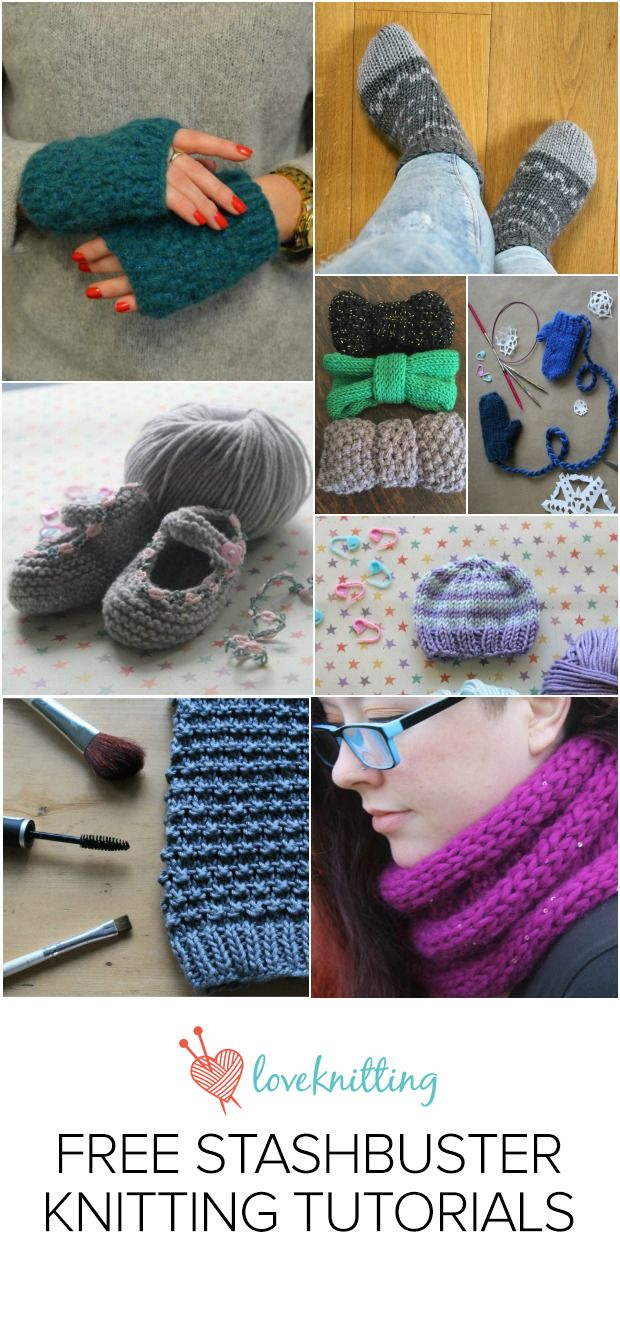 42 best Knit By Bit - Easy Knitting Tutorials images on Pinterest ...