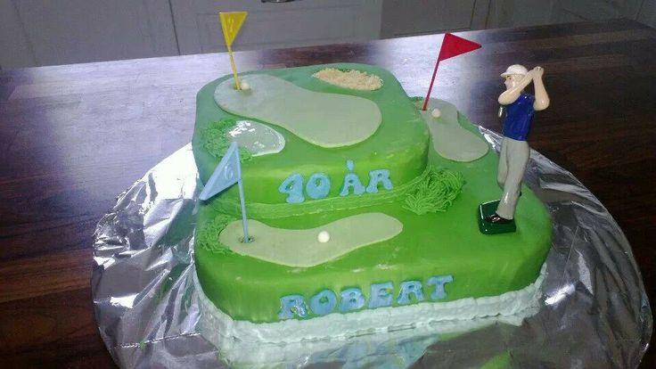 Golfkage til gemalens 40 års fødselsdag